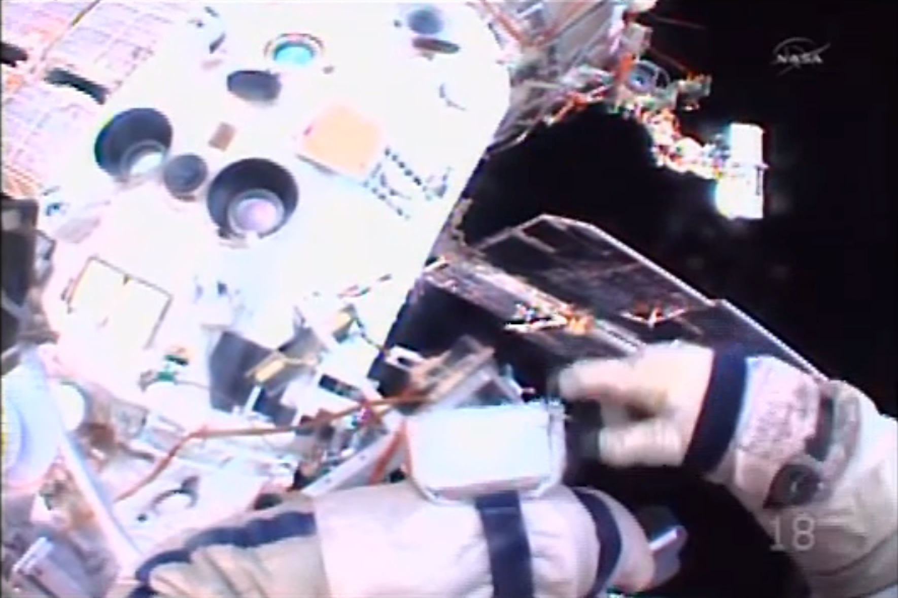 Russian Spacewalk to Install Cameras
