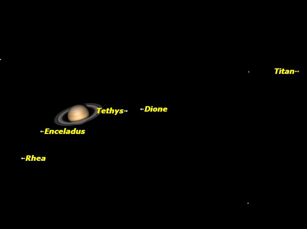 Saturn, February 2014