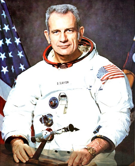 Deke Slayton was selected for the Mercury program