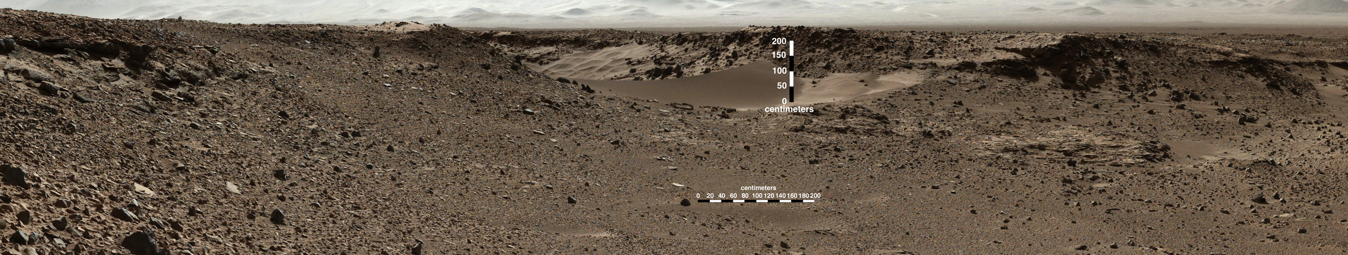 Curiosity Mars Rover Approaches 'Dingo Gap'