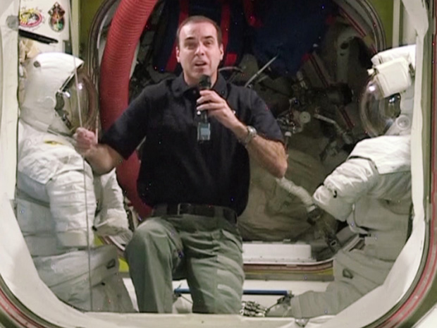 Rick Mastracchio Speaks with Space.com
