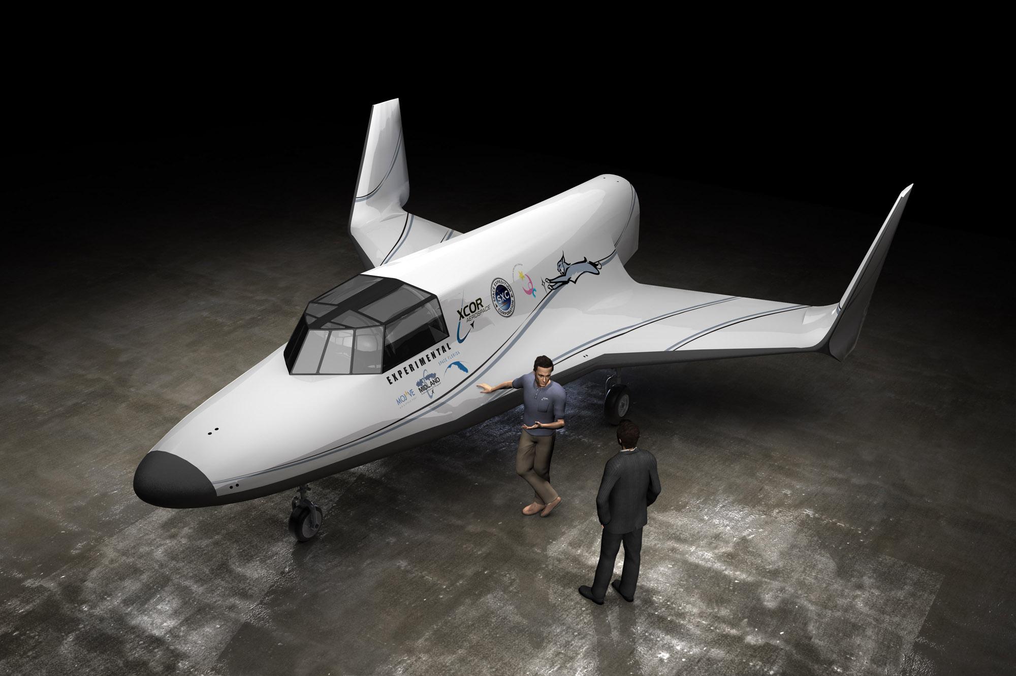 Lynx Space Plane: Artist's View
