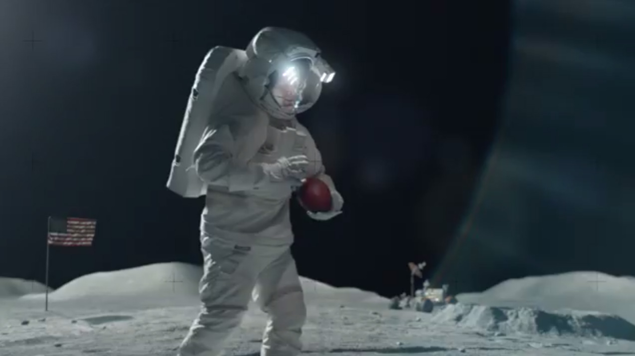Tim Tebow Plays Moon Football in Super Bowl Ad (Video)