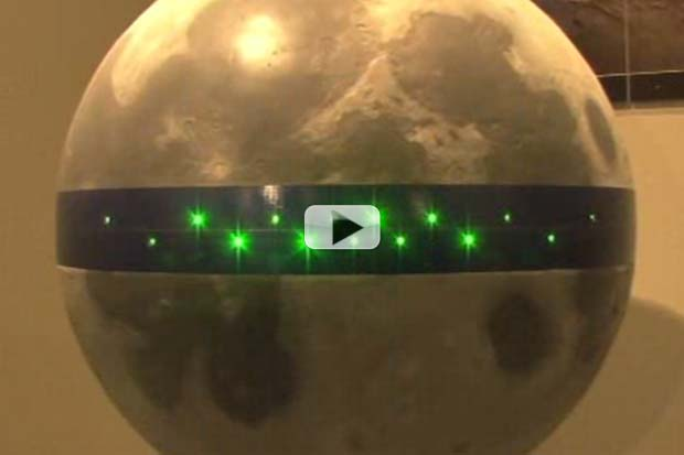 Moon Ring Of Power: Japanese Mega-Plan to Transmit Energy From Luna to Earth | Video