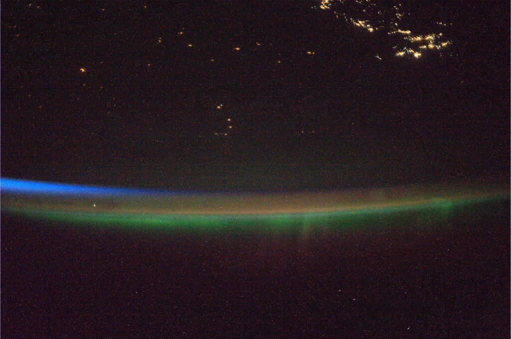 Aurora and Airglow from Space