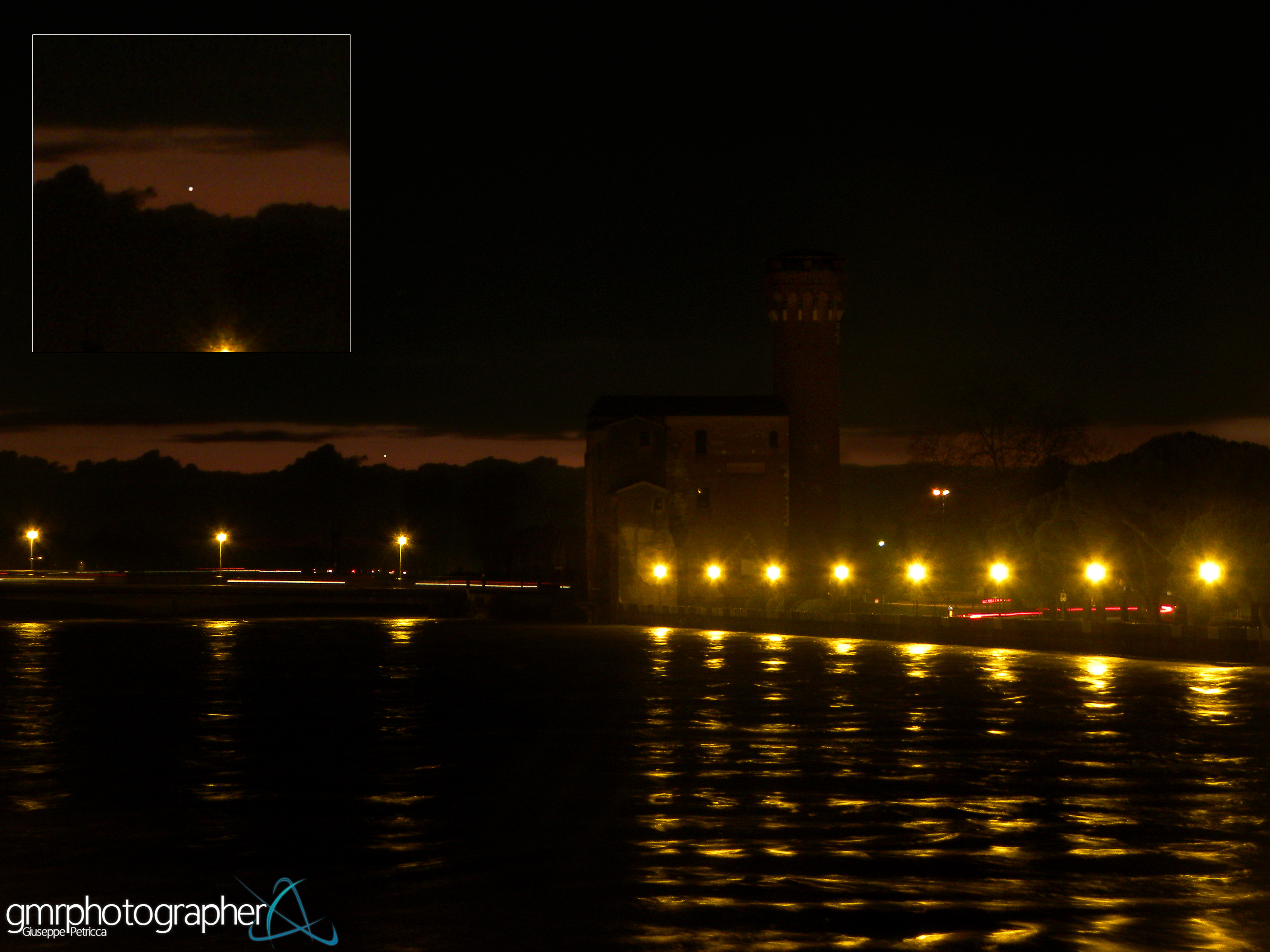 Mercury Shines Over Pisa by Giuseppe Petricca