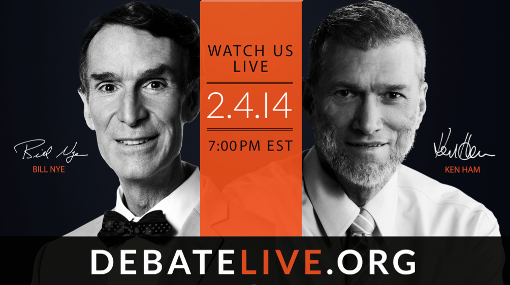 Watch Bill Nye the Science Guy Debate Creationist Tonight