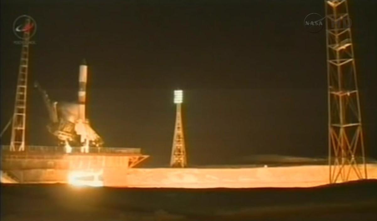 Progress 54 Launch Engine Ignition