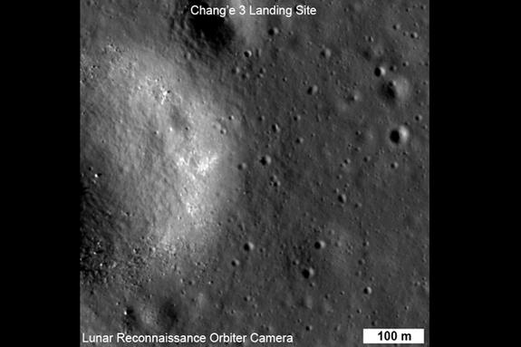 Chang'e 3 landing site.