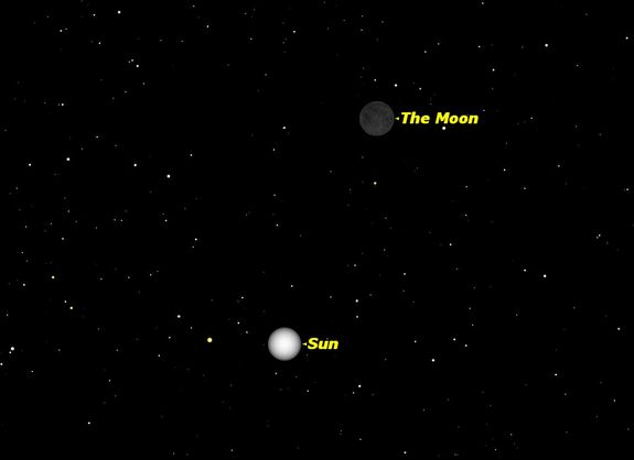 The next new moon will be on Saturday March 1, at 3 a.m. EST.