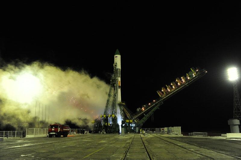 Progress 54 Rocket Launch