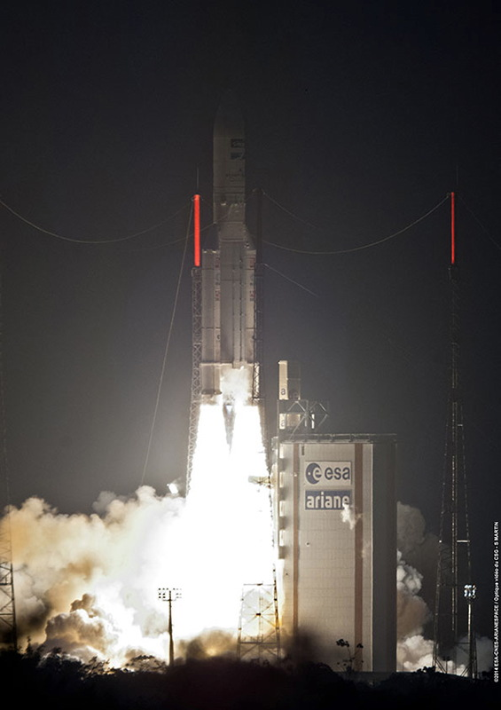 Arianespace Ariane 5 Rocket Launches Feb. 6, 2014