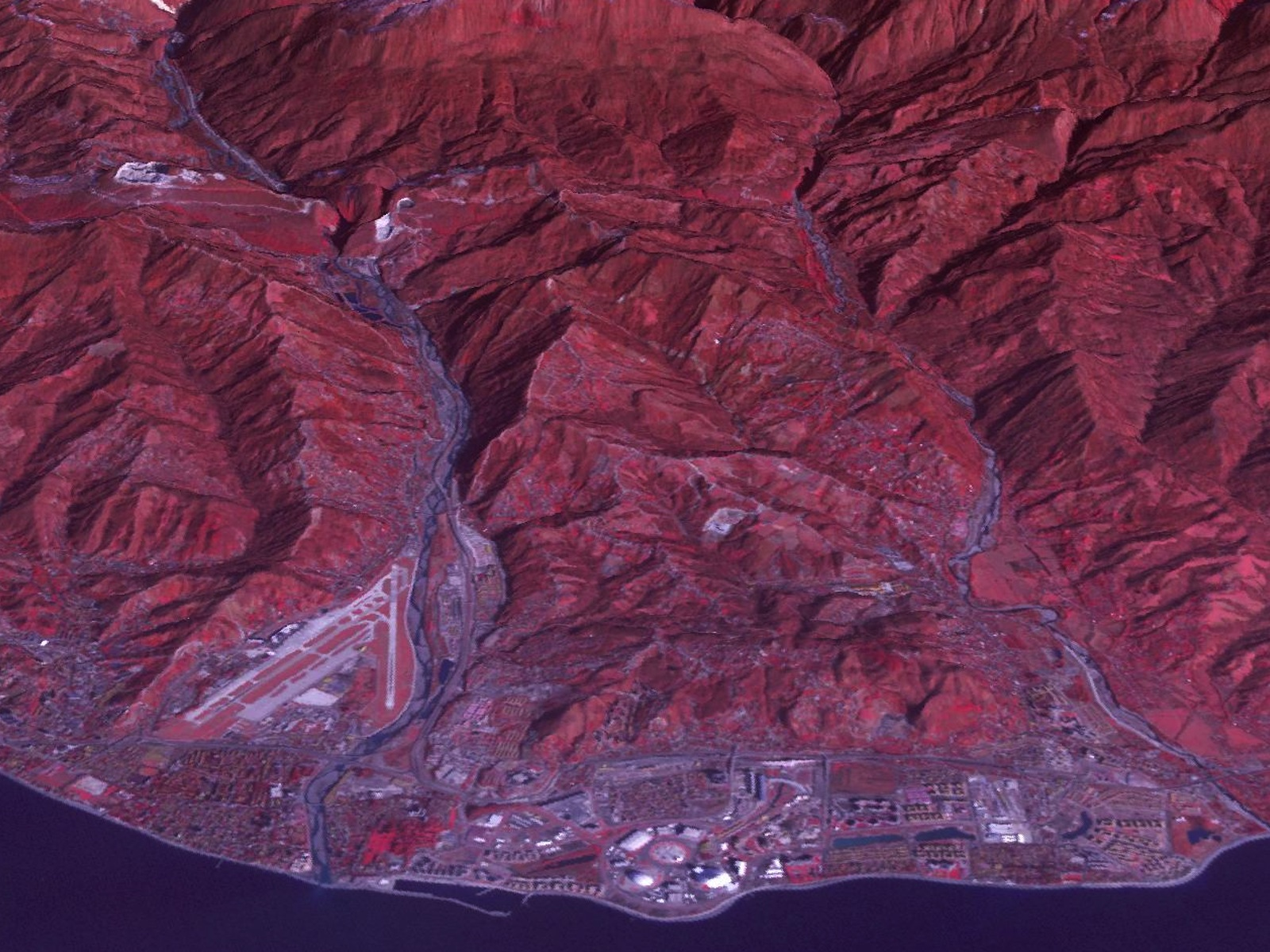 Earth from Space: Sochi Olympic Park Coastal Cluster