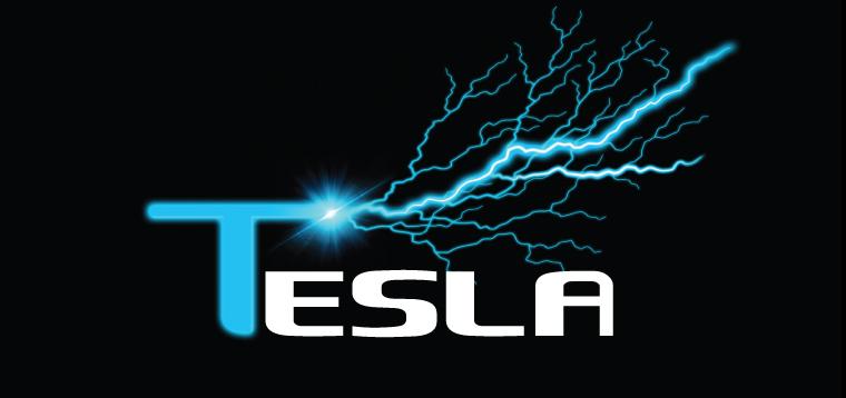 'Tesla' Typography by Dr. Prateek Lala