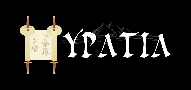 'Hypatia' Typography by Dr. Prateek Lala
