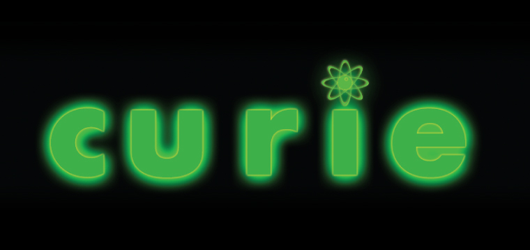 'Curie' Typography by Dr. Prateek Lala