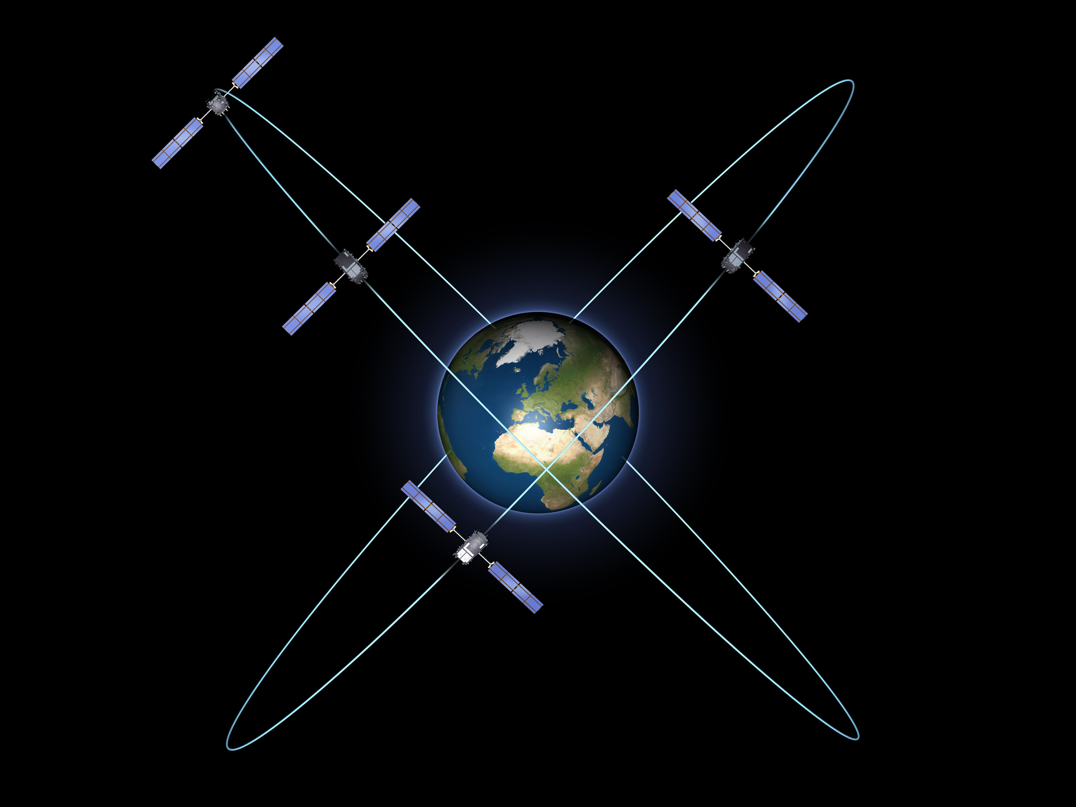 European GPS Satellites Pass Key Test in Orbit