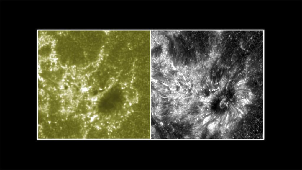 IRIS Versus Solar Dynamics Observatory