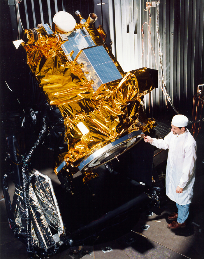 Space History Photo: Deep Space 1 Technology Demonstrator