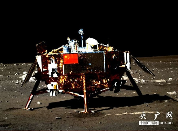China's Chang'e 3 moon lander is reportedly back in operation following its second cold-soak on the moon, surviving the 14-day lunar night.