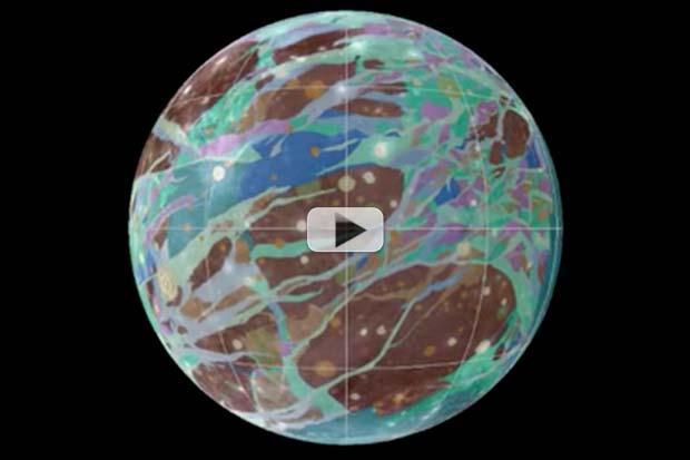 Jupiter's Moon Ganymede - First Global Geologic Map Revealed | Video