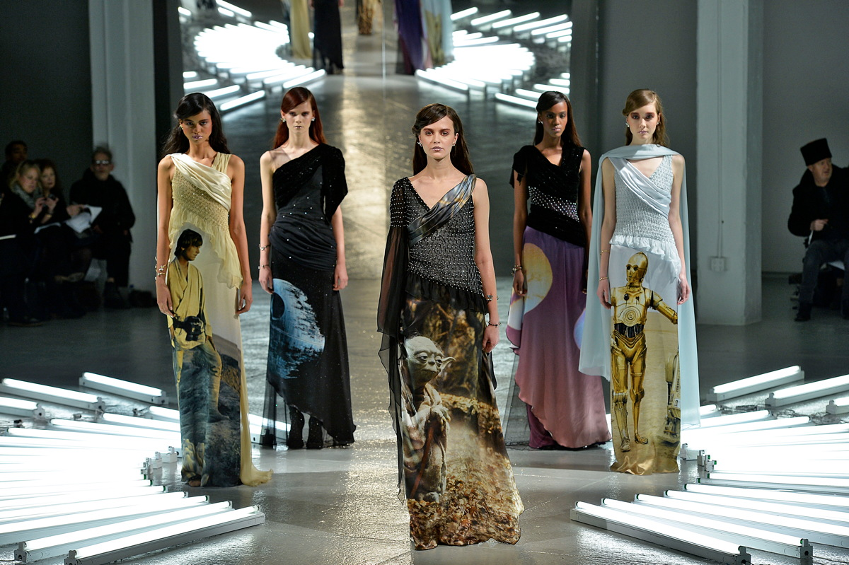 'Star Wars' Dresses Bring the Force to NYC Fashion Show