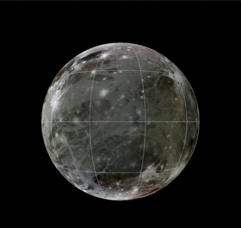 Photos of Ganymede, Jupiter's Largest Moon