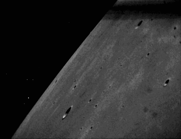 LADEE Star Tracker Images of Lunar Terrain #4