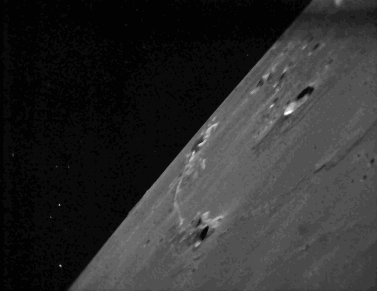 LADEE Star Tracker Images of Lunar Terrain #3