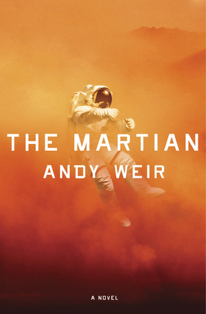 "Cover for the novel ""The Martian"""