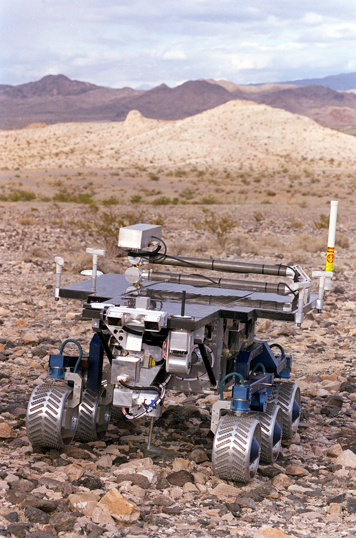 Space History Photo: FIDO Rover