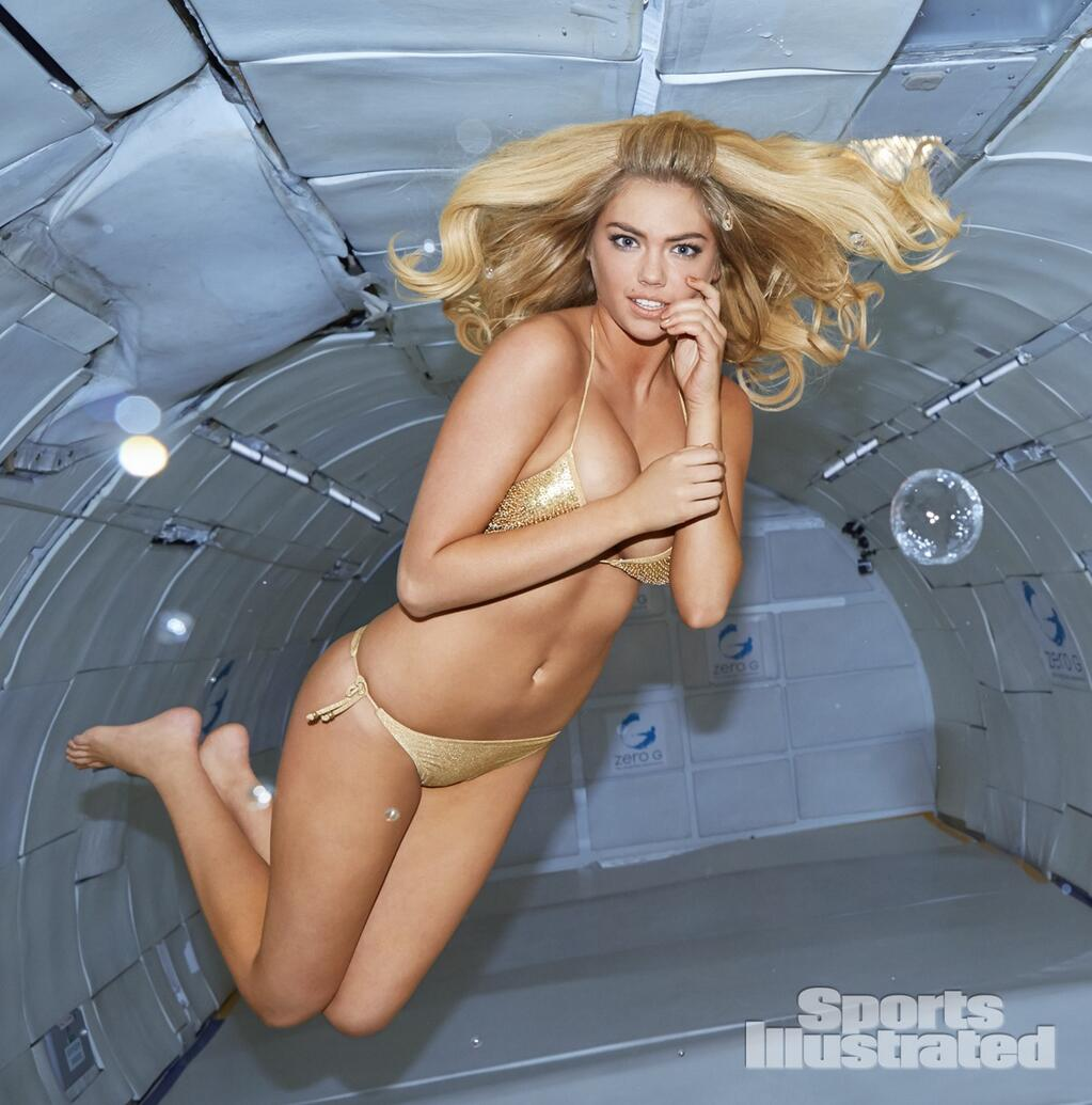 Kate Upton Goes Zero-G for Sports Illustrated's 2014 Swimsuit Issue