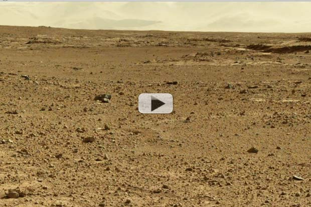 Curiosity Passes 5K Mark, Leaves Behind Terrain Of Sharp Rocks