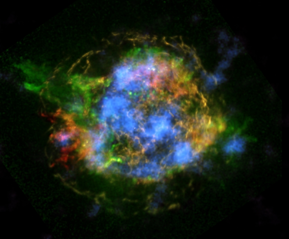 First Map of Radioactivity in Supernova Remnant