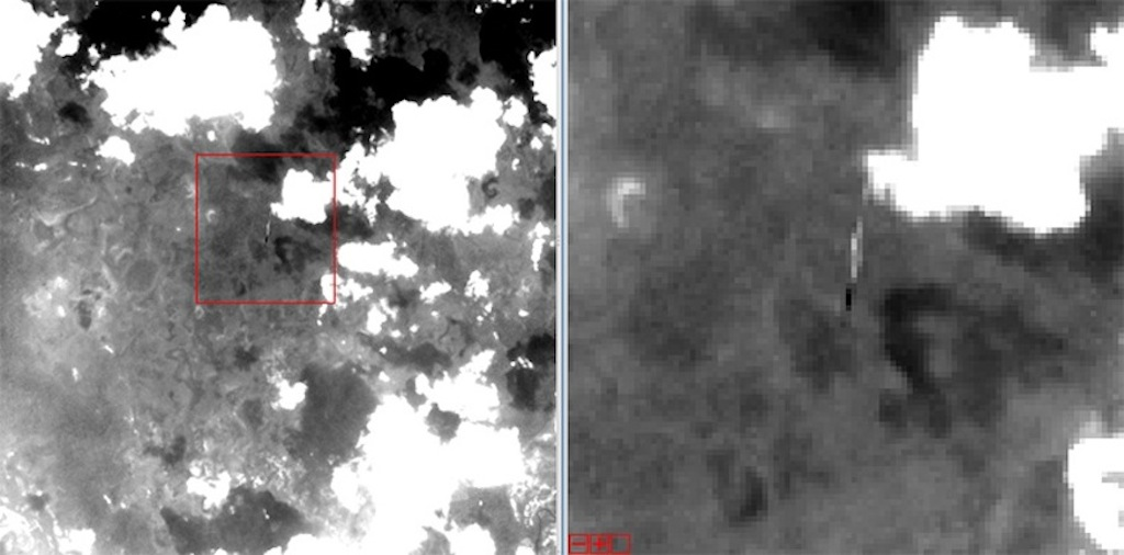 Landsat 5 Photobomb