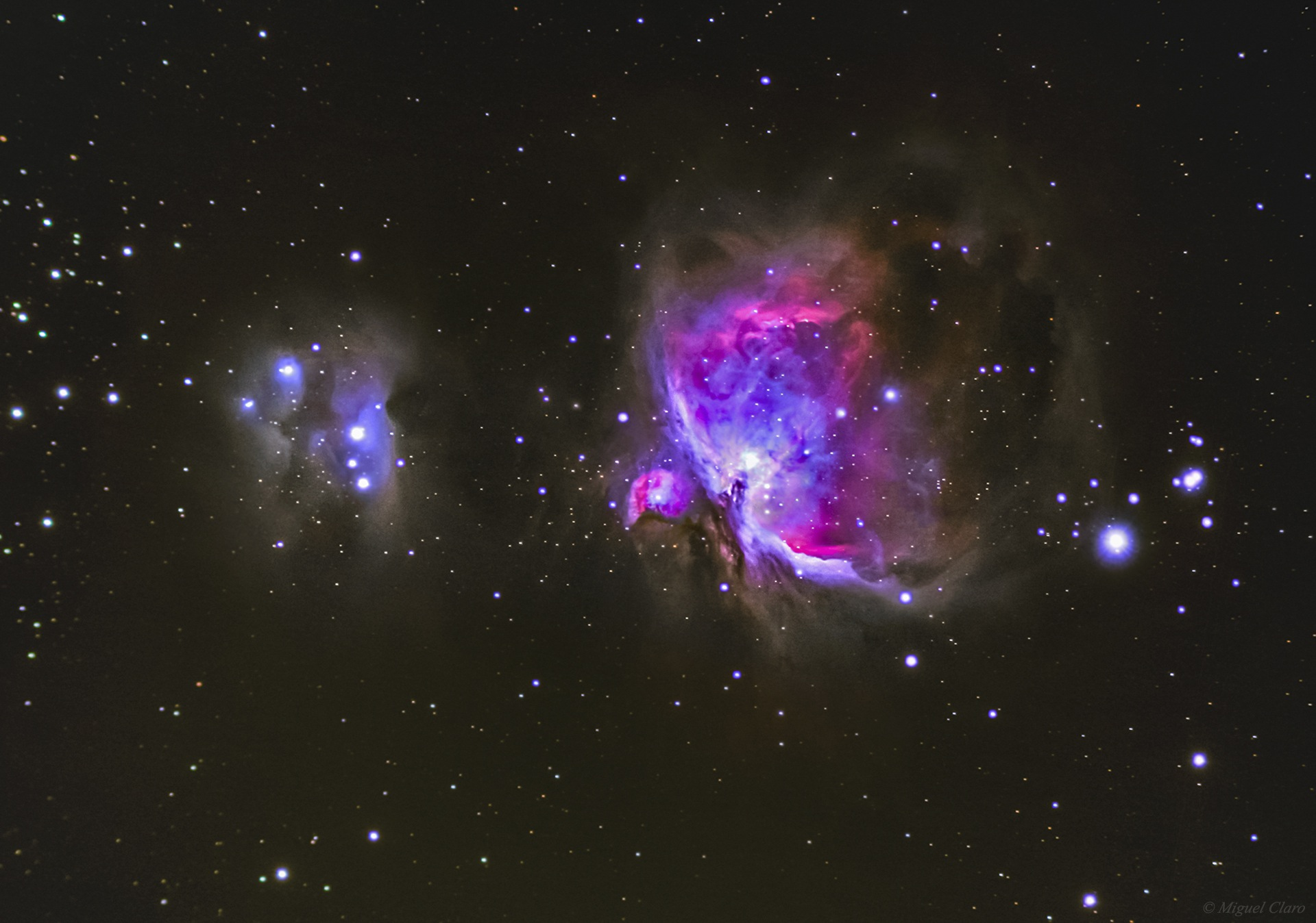 Orion Nebula by Miguel Claro