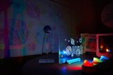 Crayola's Shadow Fx Color Projector lets kids play with animation and drawing.