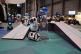 MiP has a huge personality. The robot, which specializes in balancing, is talkative and engaging.