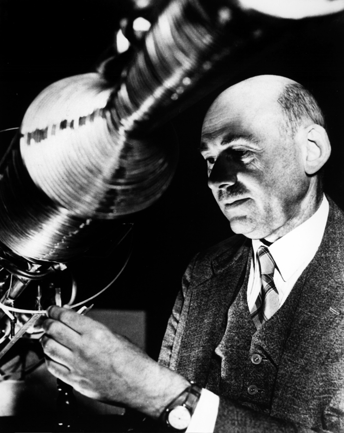 Space History Photo: Dr. Robert Goddard