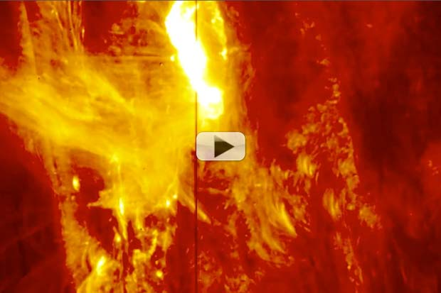 Strong Flare Snapped By Sun's Lower Atmosphere Space Observatory | Video