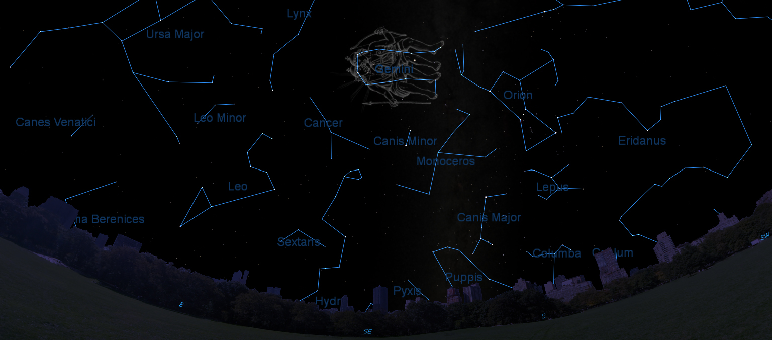 How to Spot Gemini, the Heavenly Twins, in the Night Sky