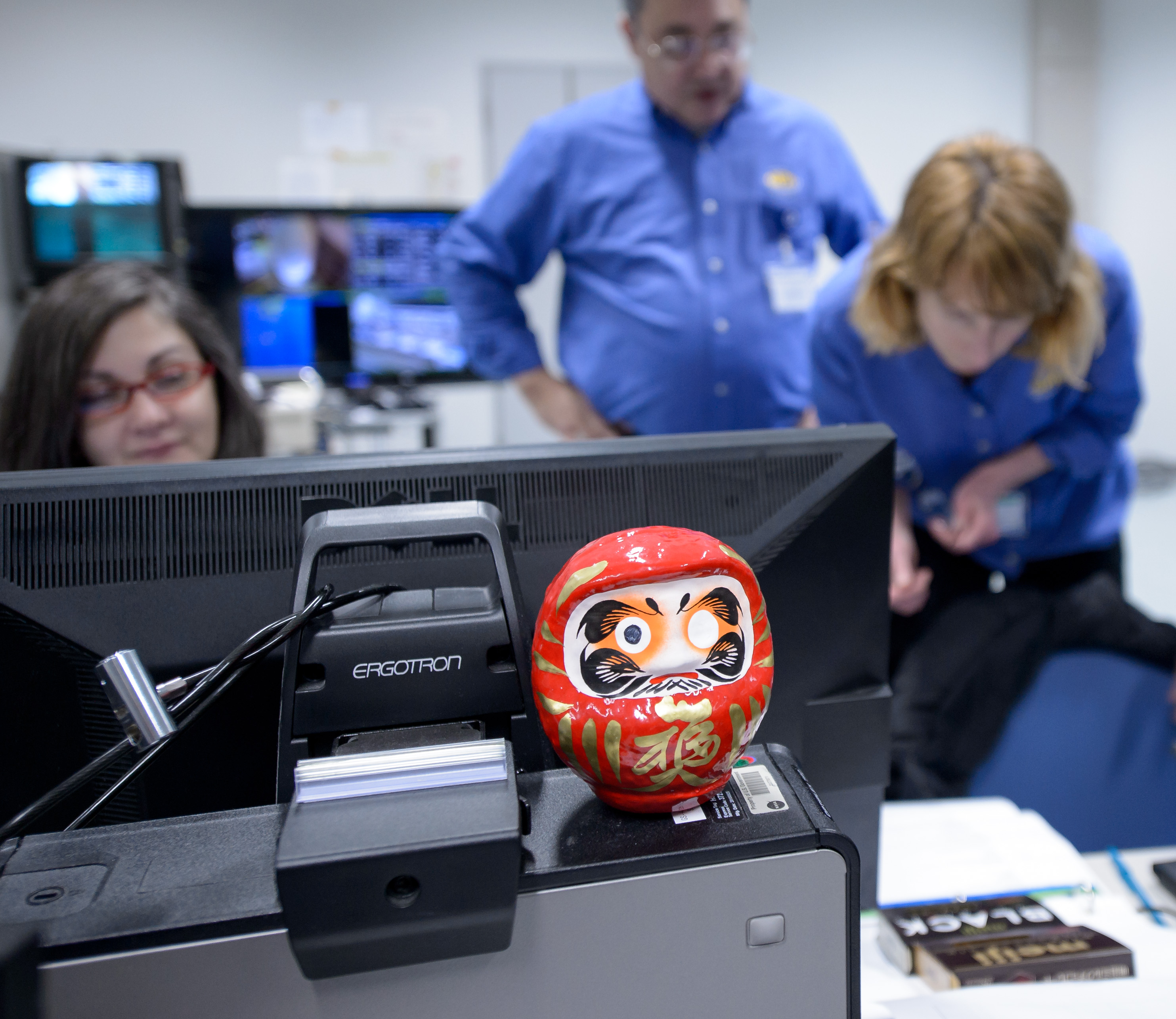 Daruma Doll at GPM Launch Simulation