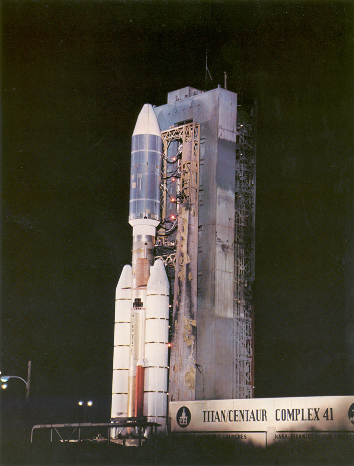 Space History Photo: Voyager 2 Launch