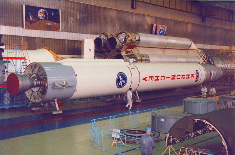 Prototype of Russia's Angara Rocket
