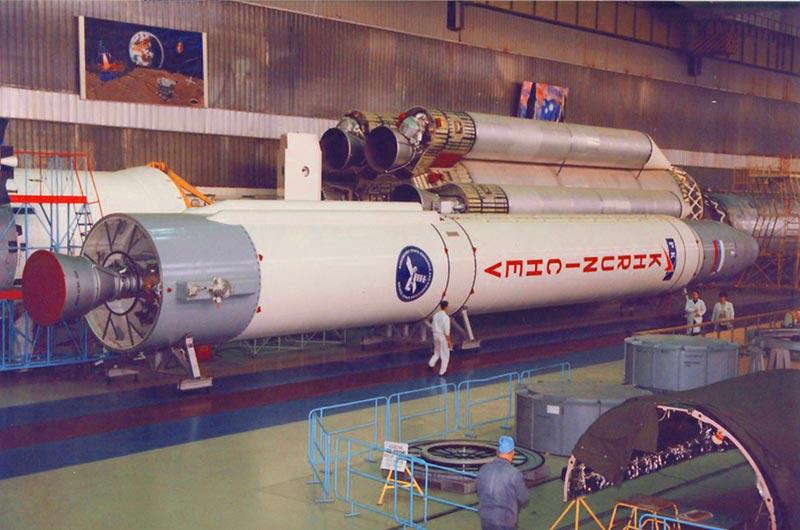 Prototype of Russia's Angara Rocket