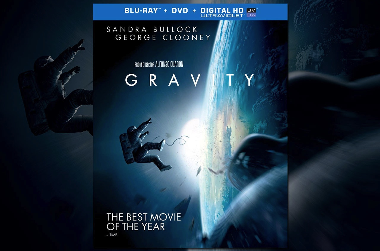 'Gravity' Drops into Stores, Beams to Space Station