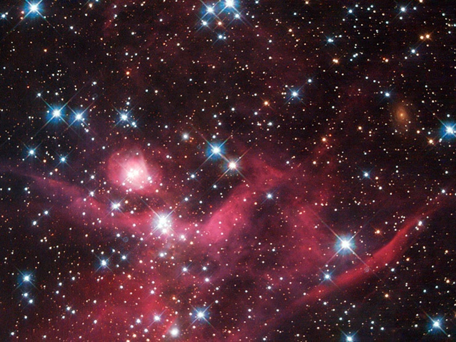 Young Stellar Cluster LH63