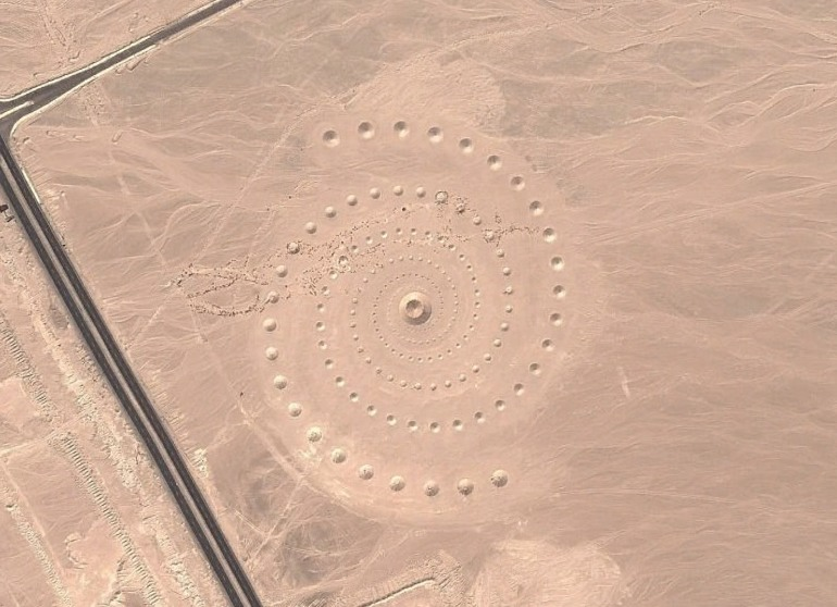 Mysterious Egyptian Spiral Seen on Google Maps