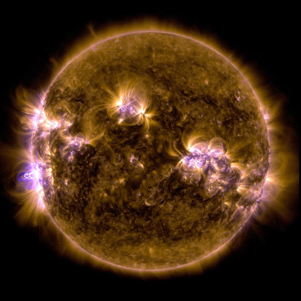 X-Class Solar Flare, Feb. 24, 2014, 7:45 p.m. EST