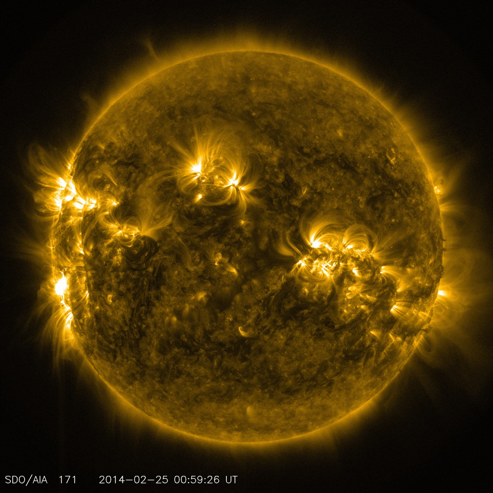 X 4.9 Flare in 171 Angstrom Light